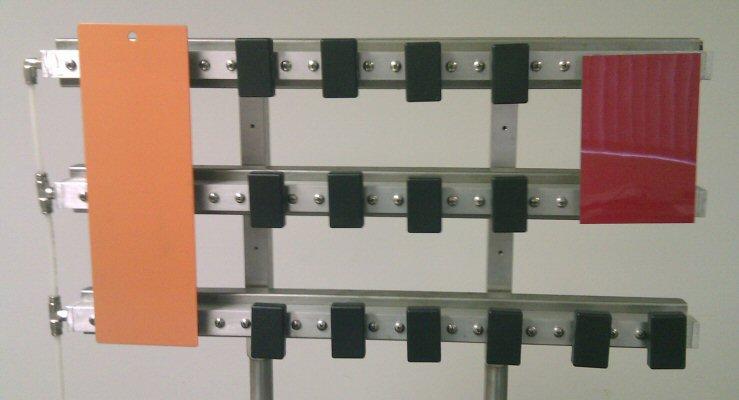 Vacuum Panel Holding Bar