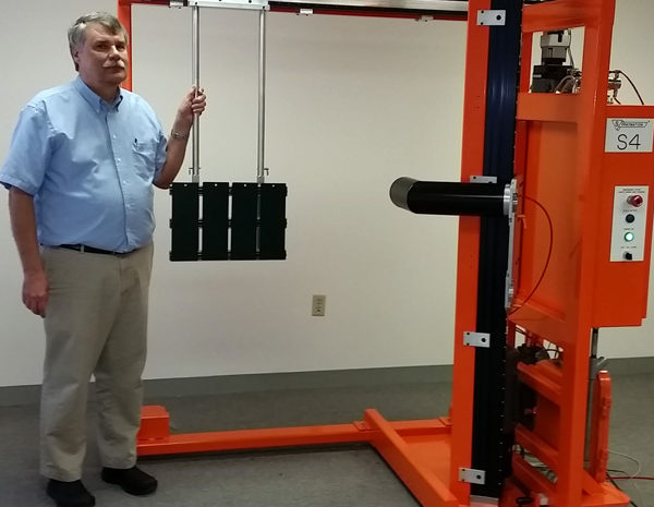 New Test Panel Spray Machine for Electrostatic Bells