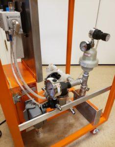 Portable Low Pressure Pump with Regulator 2