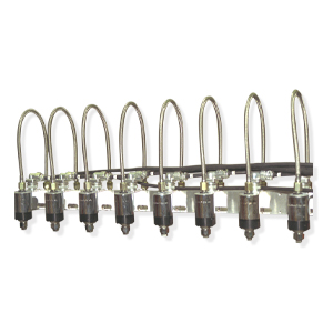 Multi-line air operated applicator heads